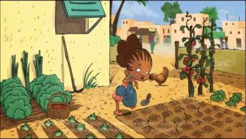 Bouba & Zaza protect the Earth – a cartoon based on UNESCO Dakar's children's books collection