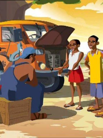 Microcredit Africa Works – Cartoon 'Birima Son of Africa'