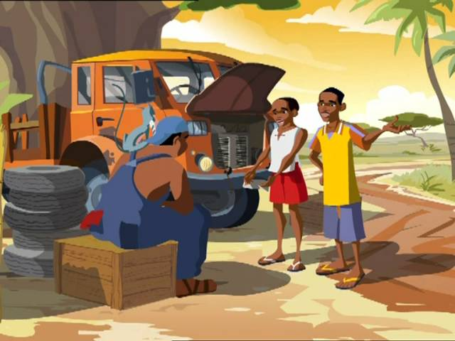 Microcredit Africa Works – Cartoon 'Birima Son of Africa'